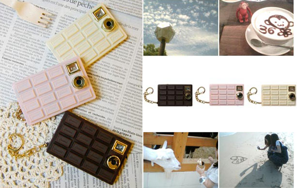 First Candy Bar Phones, and Now Candy Bar Cameras chocolate