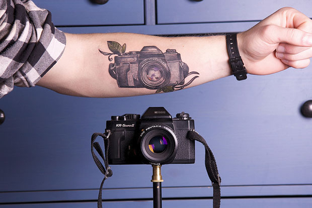 A Camera by Your Side at All Times tattoo1