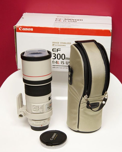 Custom Cup Made from Real Canon 300mm L Lens 300mmlenscup