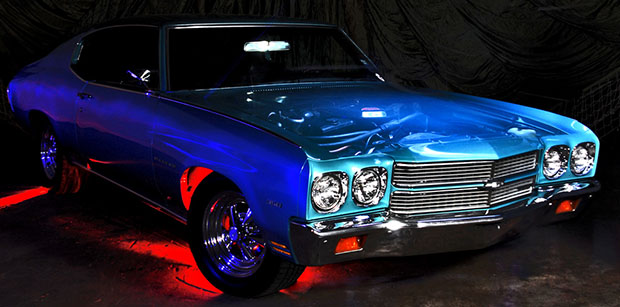 Give Your Car a See through Hood and Ghost Engine with Light Painting chevy