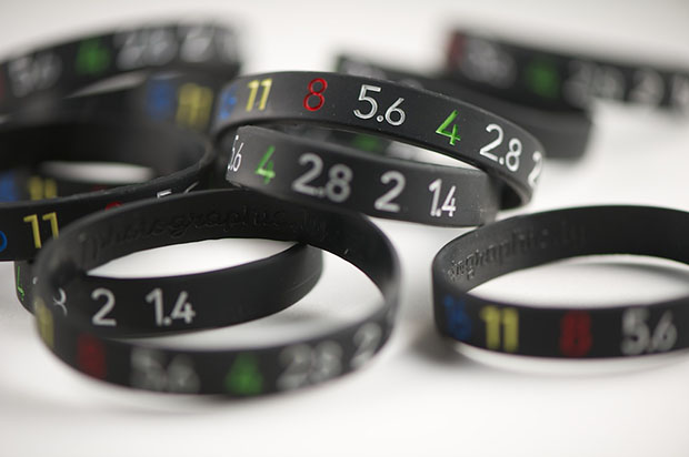 Retro f/stop Lens Bracelets Based on Old Nikon Lenses fstopbracelets