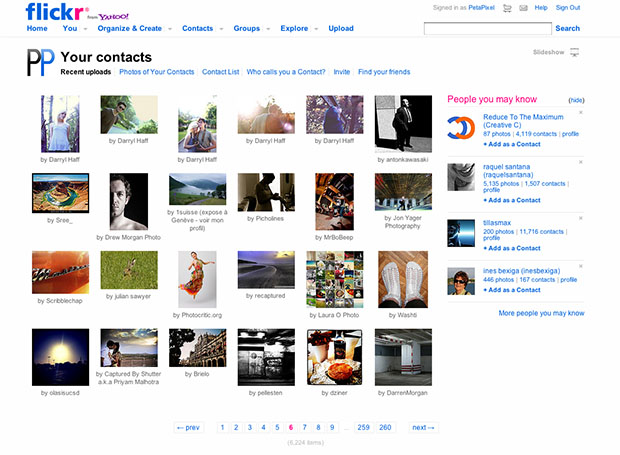 Flickr Designer Writes Blog Post Publicly Criticizing the Sites Usability flickr