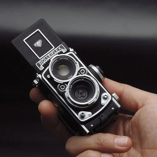  Rolleiflex Twin lens Reflex Digital Camera rollei
