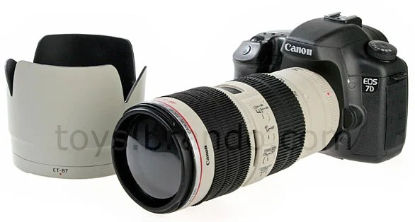 Buy this Canon 7D and 70 200mm Piggy Bank to Save Money 7dpb