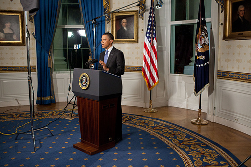 Presidential Speeches to Be Captured in Real Time... by a Single Photographer obama