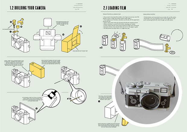 Now You Can Build Your Own Leica M3 Paper Pinhole Camera buildleica