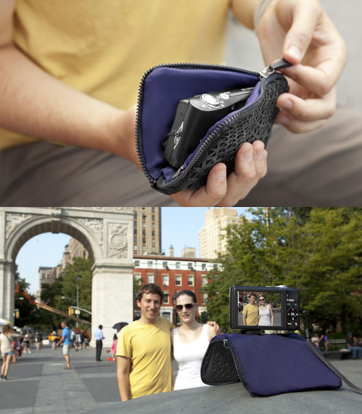 Pose: A Camera Case that Doubles as a Simple Stand pose