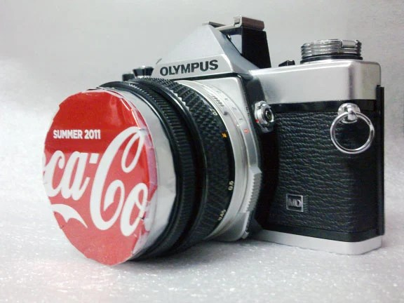 Make a DIY Lens Cap Using a Soda Can sodacancap