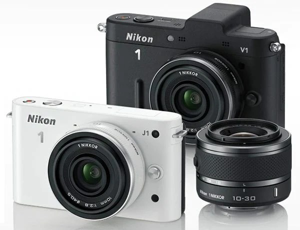 Nikon Announces J1 and V1 Mirrorless Cameras and New Lens System nikonmir mini