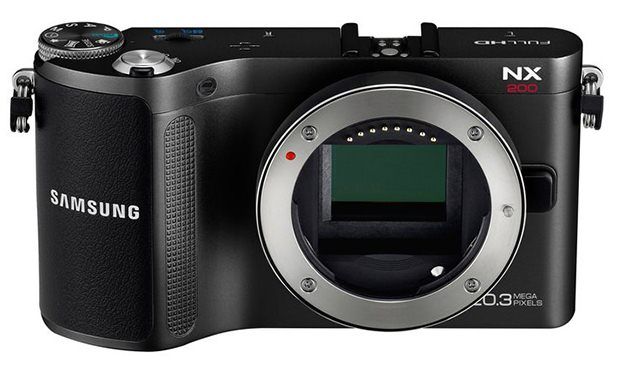Samsung Unveils the NX200: 20MP APS C Sensor in a Retro Modern Body nx200 m