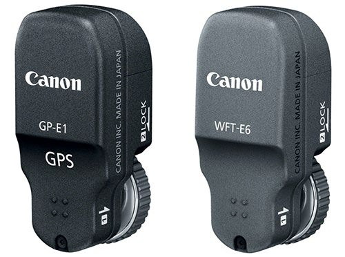 Canon 1D X Has Optional (and Pricey) Wi Fi and GPS Add ons gpswifi mini