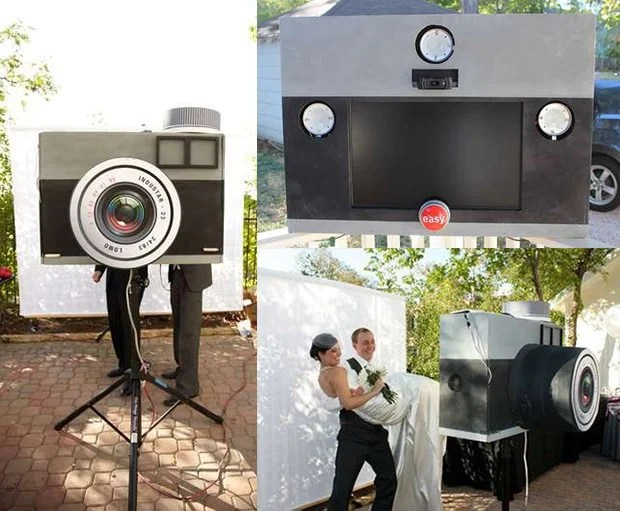 Build a DIY Photo Booth Shaped Like a Giant Lomo Camera lom mini