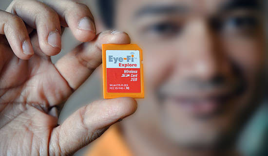 Eye Fi Says New SD Association Wireless Standard Violates Its IP eyefi mini