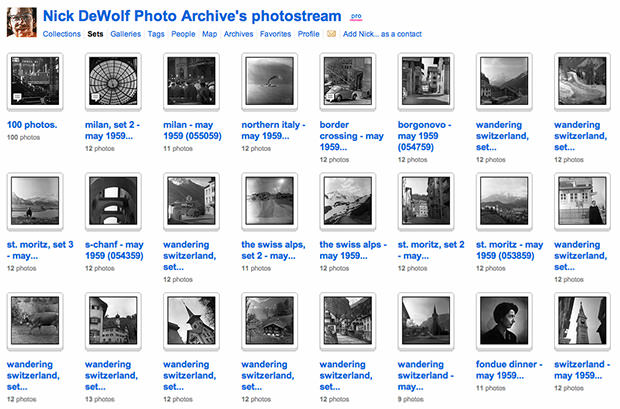 Life Archive of Photo Enthusiast Being Uploaded to Flickr One Image at a Time nickdewolf mini