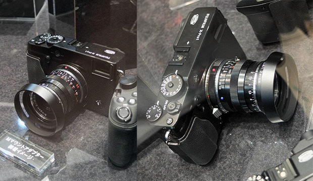 Fujifilm Showing Off Leica M Mount Adapter for the X Pro1 mmountadapter mini