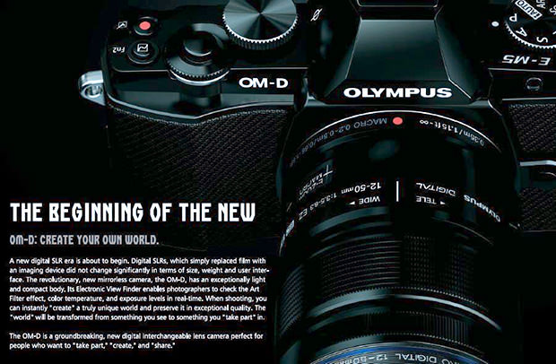 New Leaked Photos of the Retro Olympus OM D Camera omd1 mini