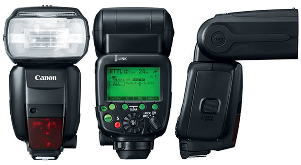 Canon Radio Controlled 600EX RT Flash Replaces the 580EX II ex600 mini