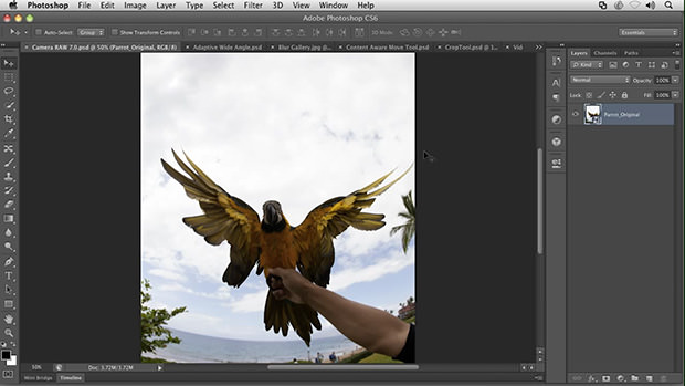 Adobe Releases Photoshop CS6 Beta: Redesigned UI and 62% More Features ps6 mini