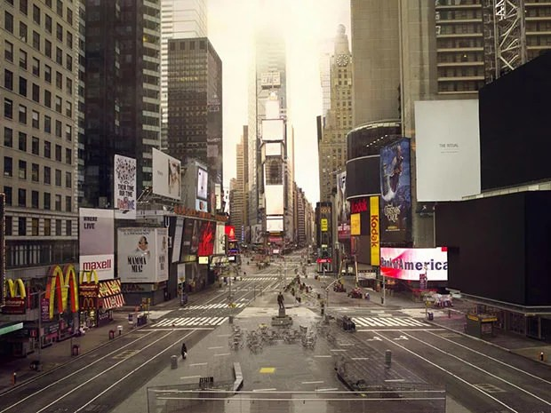 Post Apocalyptic Photographs of Major Cities Around the World silent1 mini