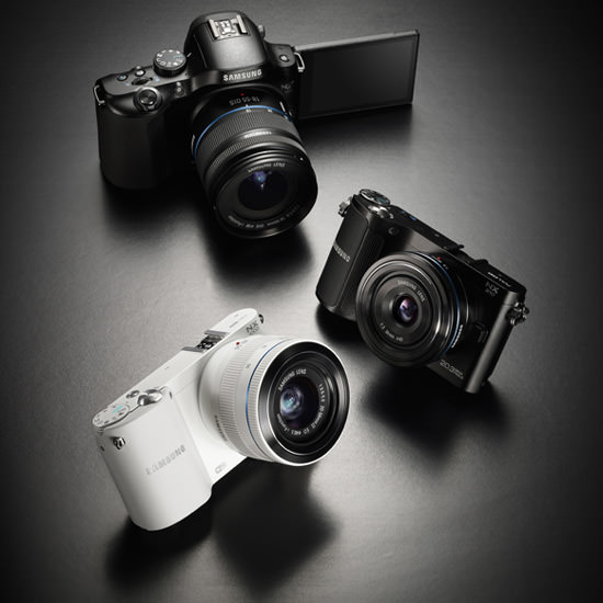 Samsung Unveils Three New Cameras: The NX20, NX210 and NX1000 Samsung NX Cameras mini