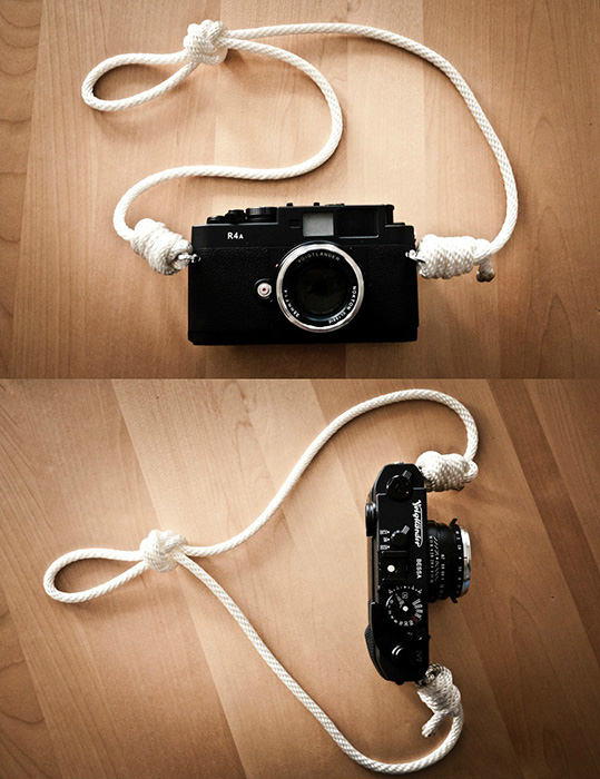 DIY Camera Strap Made of Nylon Rope strap mini1