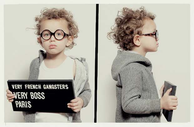 Adorable Mugshot Portraits of Children boss3 mini