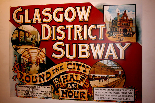 Scotlands Largest City Set To Ban All Photography in Its Subways glasgowsubway mini