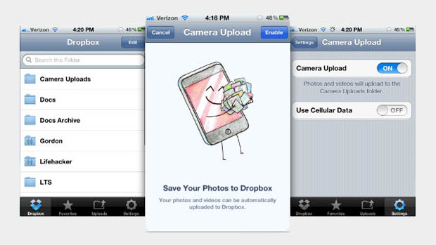 Dropbox Updates iOS App with Automatic Camera Uploads dropbx