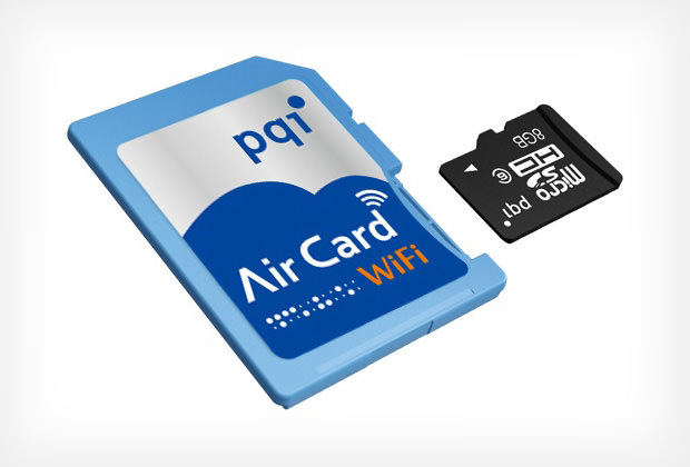 PQI Offers Eye Fi style WiFi Cards With microSD Slots for Flexible Capacity pqiaircard mini