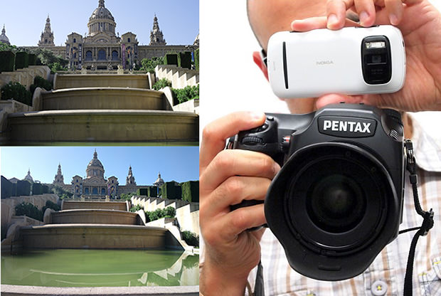 40MP Shootout: Nokia 808 PureView vs Pentax 645D compare mini