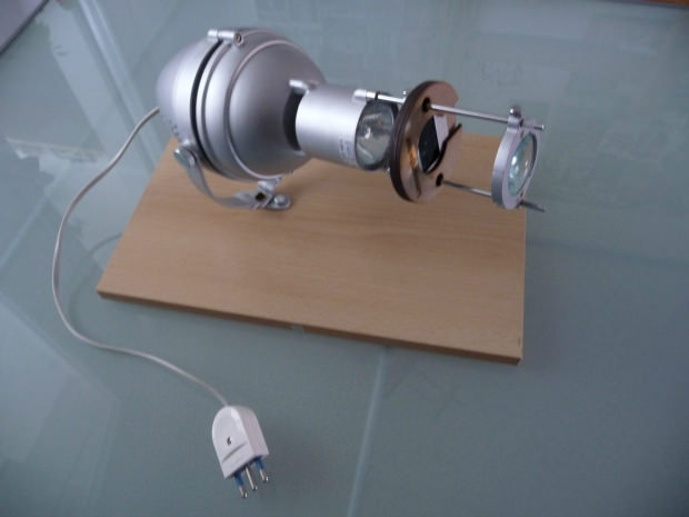 Make a DIY Slide Projector Using an IKEA Lamp diyslideprojector3 mini