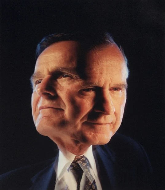 Gregory Heislers Controversial Photo of President George H.W. Bush for TIME bush mini