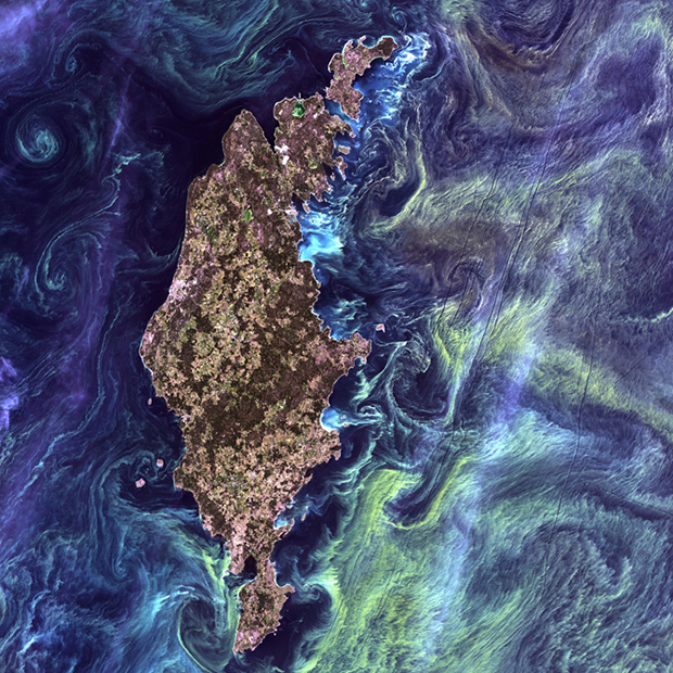 The 5 Most Artistic Satellite Photographs of Earth Captured by NASA googleearthasart1