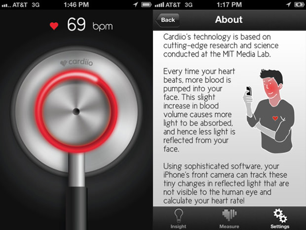 Magical App Uses Your Phones Camera to Accurately Measure Your Pulse heartrate mini