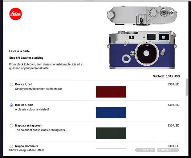 Leica  la Carte Lets You Mix and Match Parts for a Custom Film Rangefinder leicaalacarte