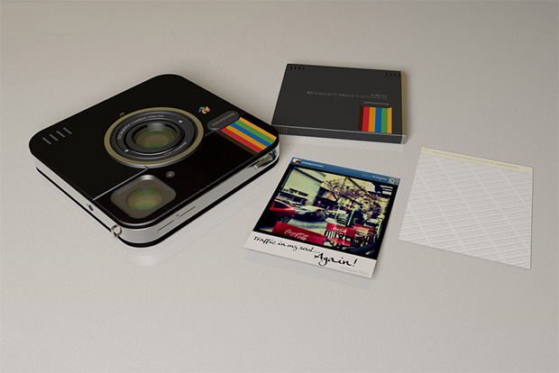Instagram Socialmatic Camera to Go from Concept to Physical Product matic0 mini
