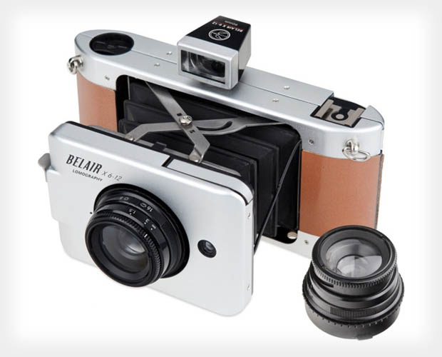 Lomography Belair X 6 12 is a Medium Format Camera with AE and Bellows bellows