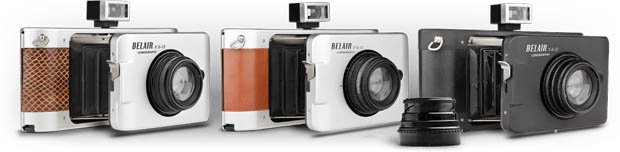 Lomography Belair X 6 12 is a Medium Format Camera with AE and Bellows models1