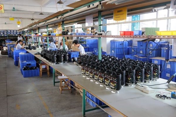 A Glimpse Inside a Photographic Lighting Factory in China 