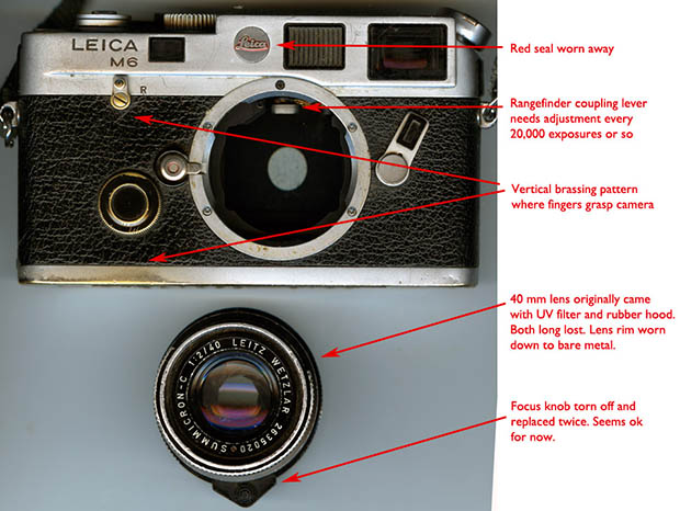 The Marks of a Leica That Has Not Been Used as a Fashion Accessory artifact4
