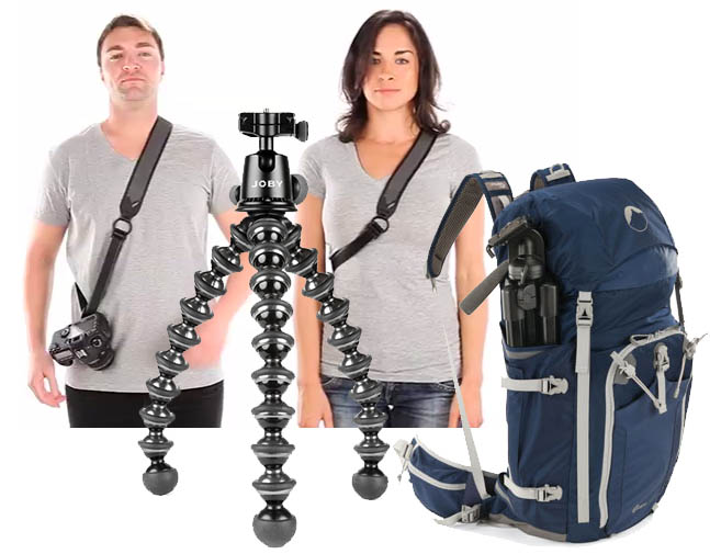 Win a Joby Strap, GorillaPod, Ballhead, and Camera Backpack Worth $550 jobygiveaway