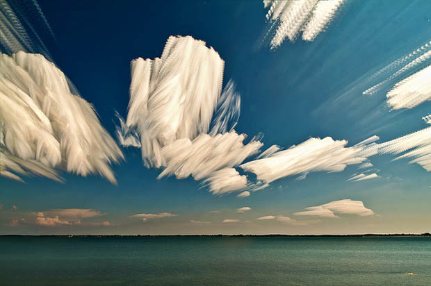 Photo Stacking Technique Makes Clouds Look Like Brush Strokes in the Sky stackedclouds 15