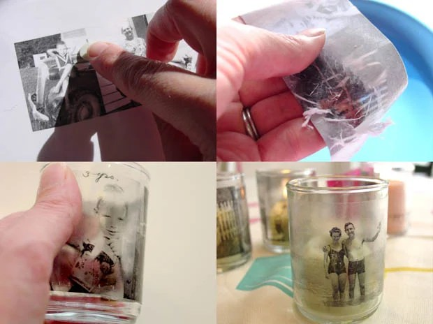 How to Transfer a Photograph Onto Glass Using Contact Paper transferglass