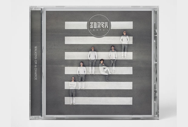 BTS: Photographing an Album Cover with a Band Blended Into a Zebra Lane albumcover