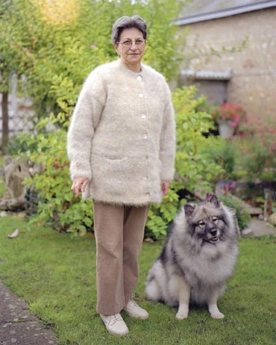 Portraits of People Who Wear Their Dogs Fur as Clothing dogfurcoat 1
