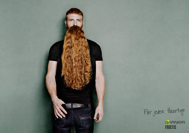 Clever Photos of Men with Hairy Beards hairillusion 2