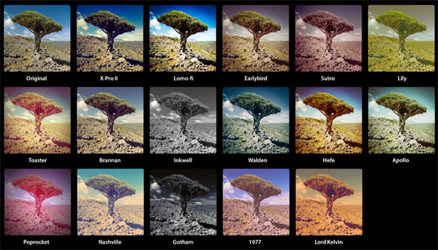 Instagram Version One Filters Recreated as Lightroom Presets instapresetsv1