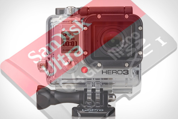 GoPro Hero3 Frying Pricey 64GB microSD Cards, Some Users Report hero3burnout