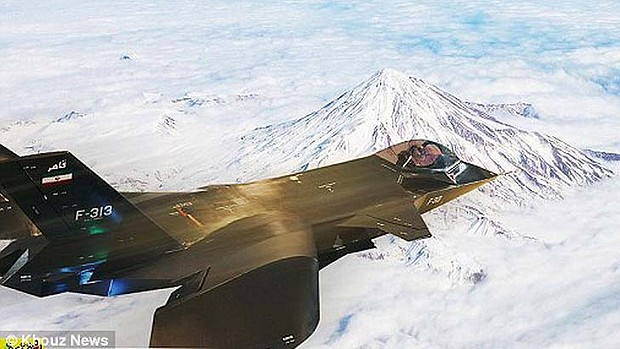 Iranian Stealth Fighter Image Called Out as Photoshop Fake by Bloggers iranphotoshop3