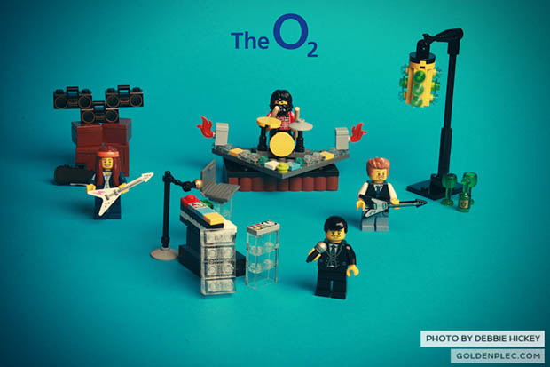 Music Website Gets Around Bands Photo Ban with LEGO Recreations thekillerslego